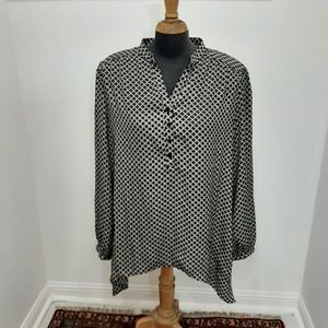 Size xl new with tags top black and beige